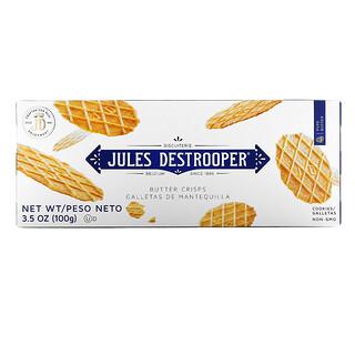 Jules Destrooper, Butter Crisps Cookies, 3.5 oz (100 g)