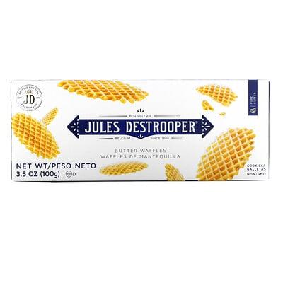 Купить Jules Destrooper Butter Waffles Cookies, 3.5 oz (100 g)