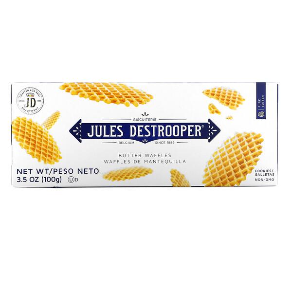 Jules Destrooper, Butter Waffles Cookies, 3.5 oz (100 g)