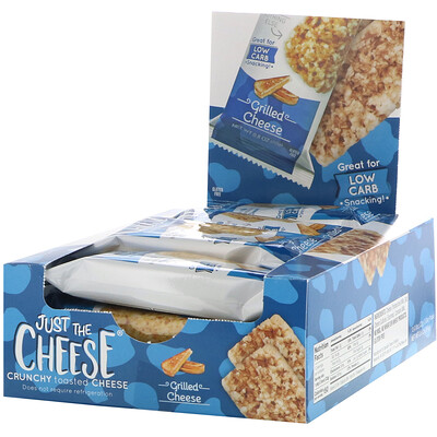 Купить Just The Cheese Батончики с сыром-гриль, 12 шт., 22 г (0, 8 унции)