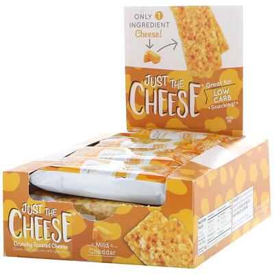 Купить Just The Cheese Mild Cheddar Bars, 12 Bars, 0.8 oz (22 g)