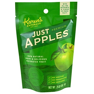 Karen's Naturals, Premium, Just Apples, .75 oz (21 g)