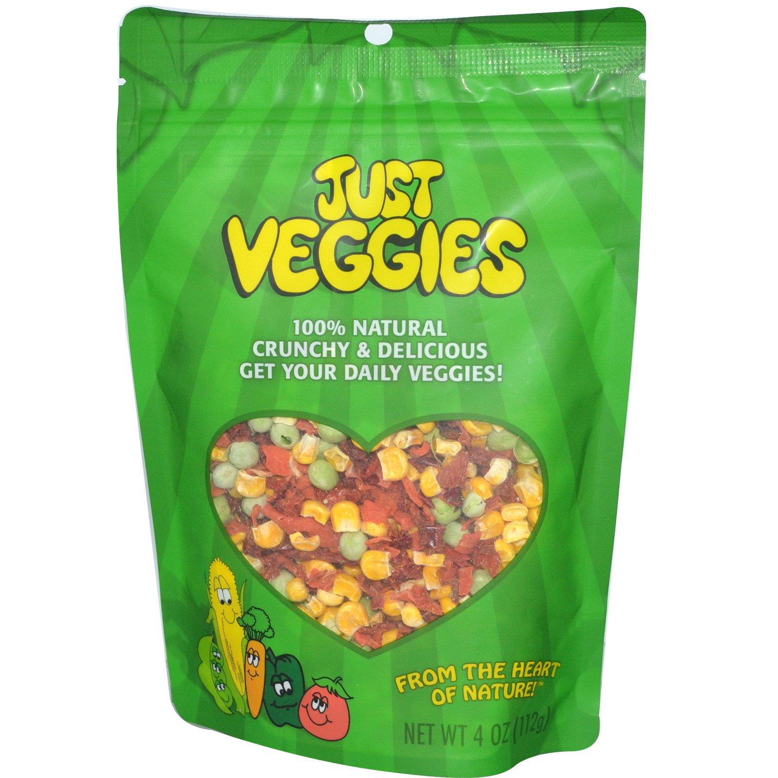 """Karen's Naturals, """"Просто овощи"""", 4 унции (112 г)"""