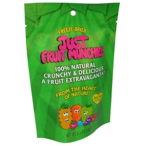 Карэнс Нэчуралс, Just Fruit Munchies, 0.5 oz (14 g) отзывы