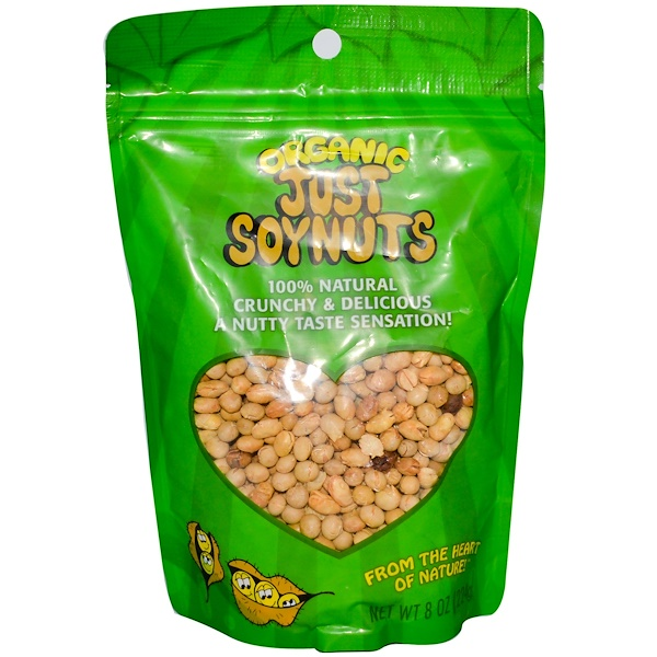 Karen's Naturals, Organic Just Soynuts, 8 oz (224 g) (Discontinued Item)