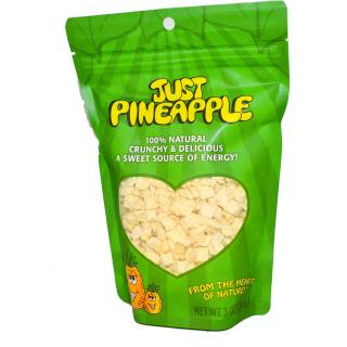 Karen's Naturals, Just Pineapple, 3 oz (84 g)