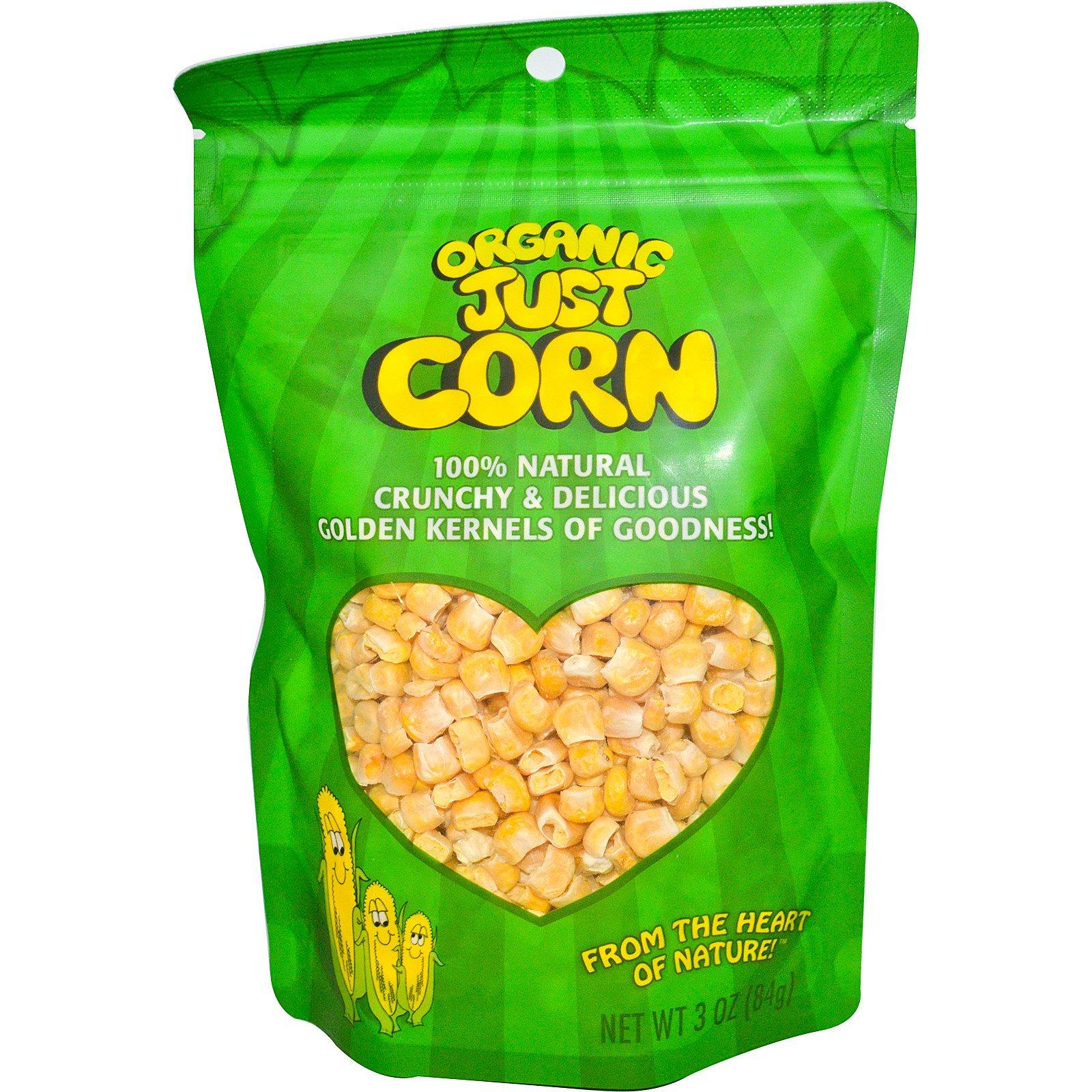 Karen's Naturals, Органическая кукуруза обыкновенная, 3 унции (84 г)