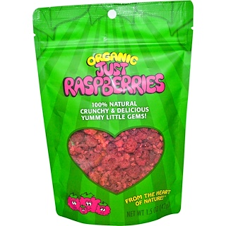 Karen's Naturals, Organic Just Raspberries, 1.5 oz (42 g)