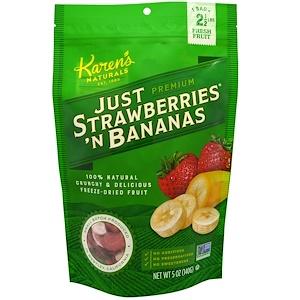Карэнс Нэчуралс, Premium, Freeze- Dried Fruit, Just Strawberries 'N Bananas, 5 oz (140 g) отзывы