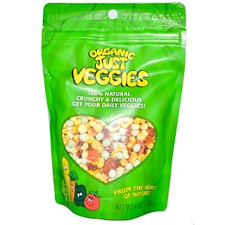 Karen's Naturals, Organic Just Veggies, 4 oz (112 g)