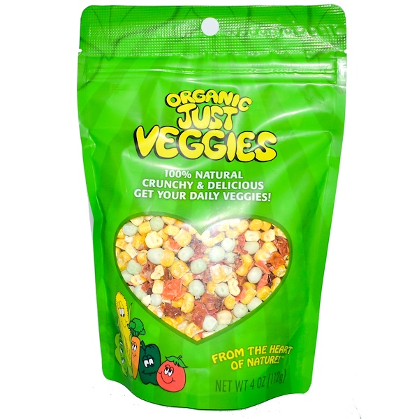 Karen's Naturals, Organic Just Veggies, 4 oz (112 g) (Discontinued Item)