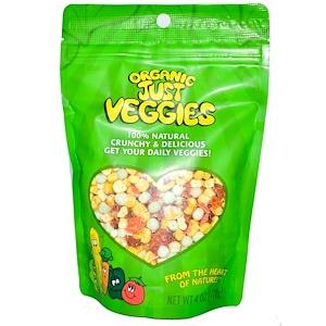 Карэнс Нэчуралс, Organic Just Veggies, 4 oz (112 g) отзывы