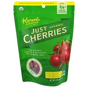 Карэнс Нэчуралс, Just Organic Cherries, 2 oz (56 g) отзывы