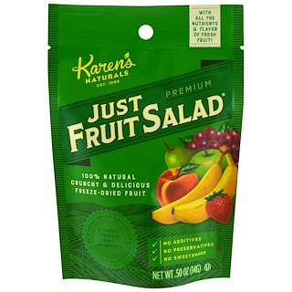 Karen's Naturals, Premium, Just Fruit Salad, .50 oz (14 g)