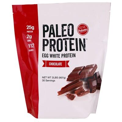 Купить Paleo Protein, протеин яичного белка, шоколад, 2 фунта (907 г)