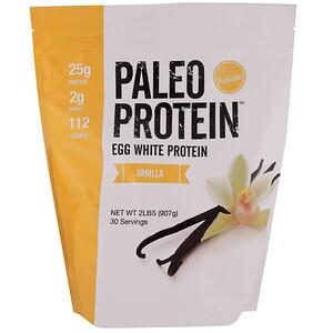 Де Джулиан Бэйкари, Paleo Protein, Egg White Protein, Vanilla, 2 lbs (907 g) отзывы