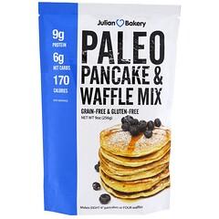 Julian Bakery, パレオパンケーキ・ワッフルミックス、 9 oz (256 g)