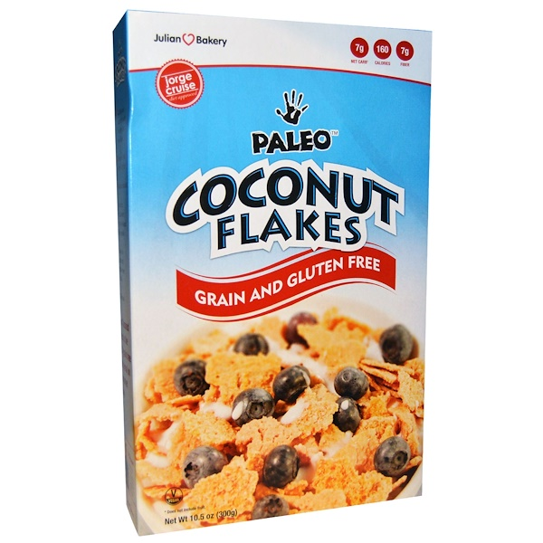 Julian Bakery, Paleo Coconut Flakes, 10.5 oz (300 g) (Discontinued Item)