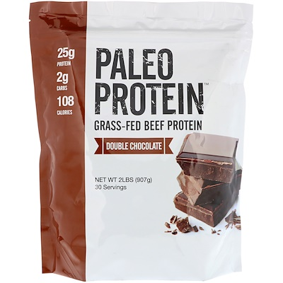 Купить Julian Bakery Палеобелок, протеин белок из мяса коров на травяном откорме, двойной шоколад, 907 г