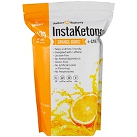 InstaKetones, Апельсиновый взрыв + кофеин, 1,16 фунтов (525 г) - фото
