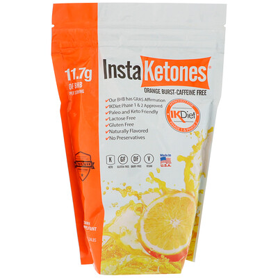 Julian Bakery InstaKetones, апельсиновые брызги, 1,24 ф (565 г)