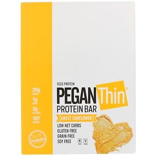 Julian Bakery, Pegan Thin Protein Bar, Sweet Sunflower, 12 Bars, 2.29 oz (65 g)