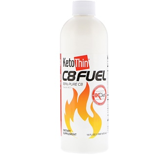 Julian Bakery, KetoThin C8 Fuel, 473 мл