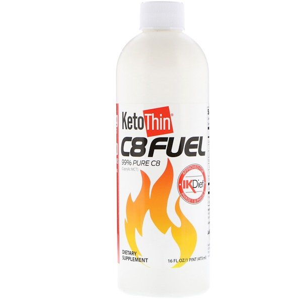 KetoThin C8 Fuel, 16 fl oz (473 ml)
