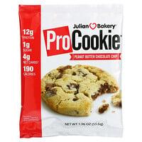 Julian Bakery, Pro Cookie, Peanut Butter Chocolate Chip, 1.96 oz (55.6 g)
