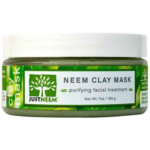 Just Neem, Neem Clay Mask, 7 oz (199 g) (Discontinued Item)