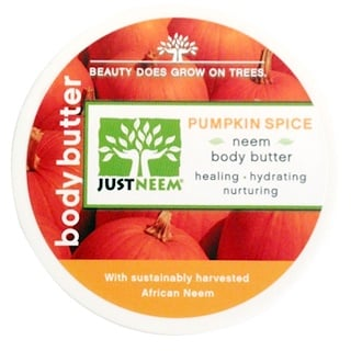 Just Neem, Pumpkin Spice Neem Body Butter, 4 oz (113 g)