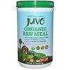 Juvo, Organic Raw Meal, 21.2 oz (600 g) (Discontinued Item)