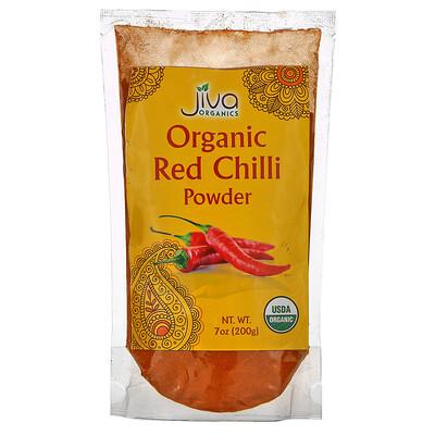 Купить Jiva Organics Organic Red Chilli Powder, 7 oz (200 g)