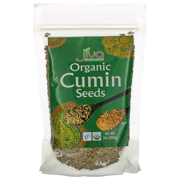 Organic Cumin Seeds, 7 oz (200 g)