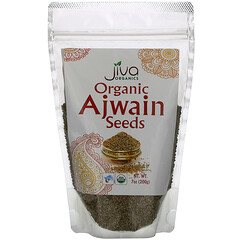 Jiva Organics, 有機印度藏茴香籽,7 盎司(200 克)