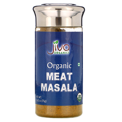 Jiva Organics Organic Meat Masala, 2.62 oz (75 g)  - купить со скидкой