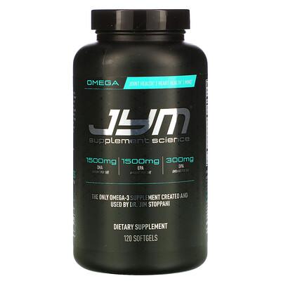 Купить JYM Supplement Science Omega-3, 120 Softgels