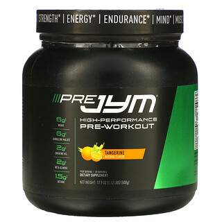 JYM Supplement Science, High-Performance Pre-Workout, Tangerine, 17.9 oz (508 g)