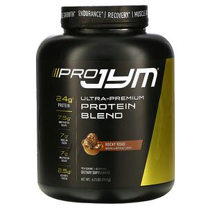 JYM Supplement Science, Ultra-Premium Protein Blend, Rocky Road, 4.2 lb (1,915 g) отзывы