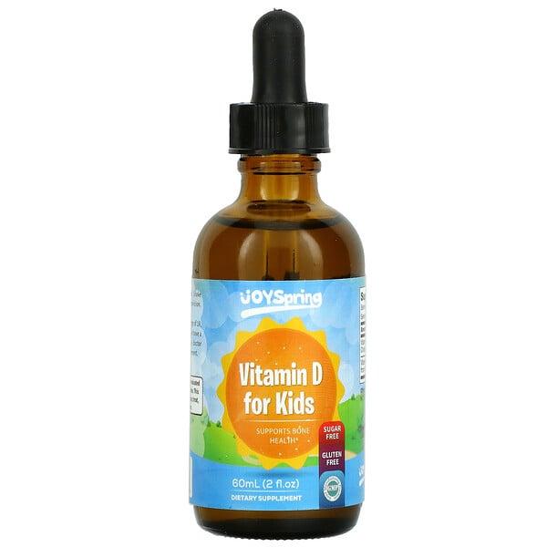 Vitamin D for Kids, 2 fl oz (60 ml)