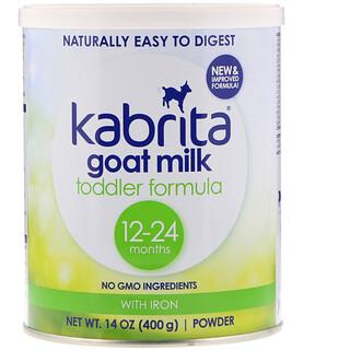 Kabrita, ゴートミルク 幼児向けフォーミュラ、鉄入り、14 oz (400 g) パウダー