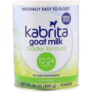 Kabrita, Смесь для младенцев с железом на козьем молоке, 28 унции (800 г)