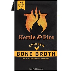 Kettle & Fire, Knochenbrühe, Hühnchen, 480 ml