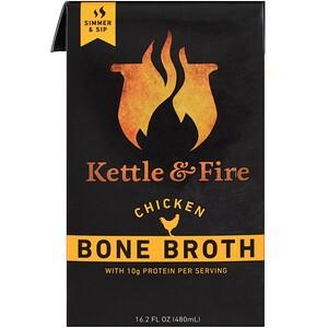 Кэттл энд Фаэ, Bone Broth, Chicken, 16.2 fl oz (480 ml) отзывы