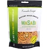 Kameda Crisps, Savory Rice Snack, Wasabi with Roasted Peanuts, 5.0 oz (142 g) (Discontinued Item)
