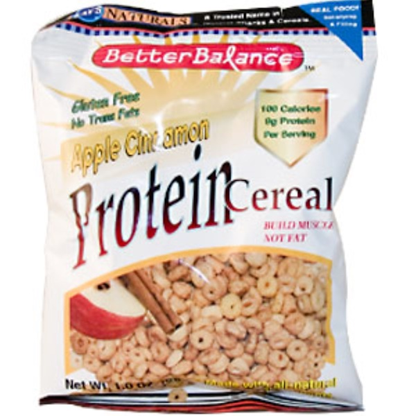 Kay's Naturals, Better Balance, Protein Cereal, Apple Cinnamon, 1.0 oz (28 g) (Discontinued Item)