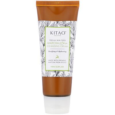 Kitao Matcha & Chia, Cleansing Cream, 3.8 fl oz (110 g)