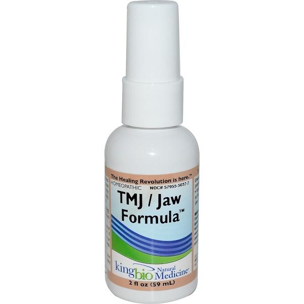 King Bio Homeopathic, TMJ/Jaw Formula, 2 fl oz (59 ml) (Discontinued Item)