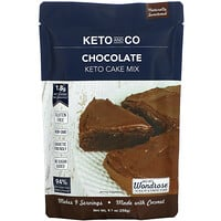 Keto and Co, Keto Cake Mix, Chocolate, 9.1 oz (258 g)