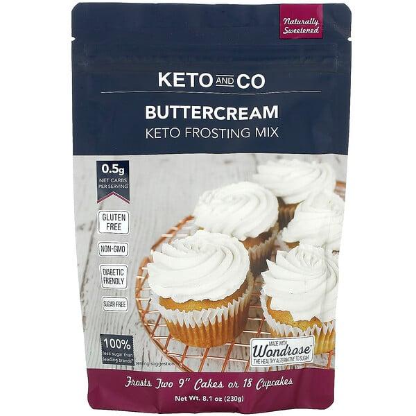 Buttercream, Keto Frosting Mix, 8.1 oz (230 g)